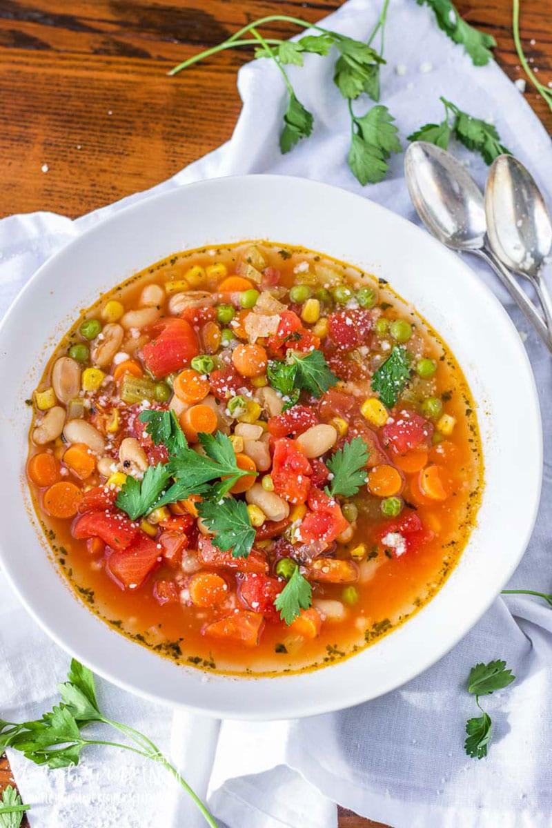 Vegetable Soup Longbourn Farm
