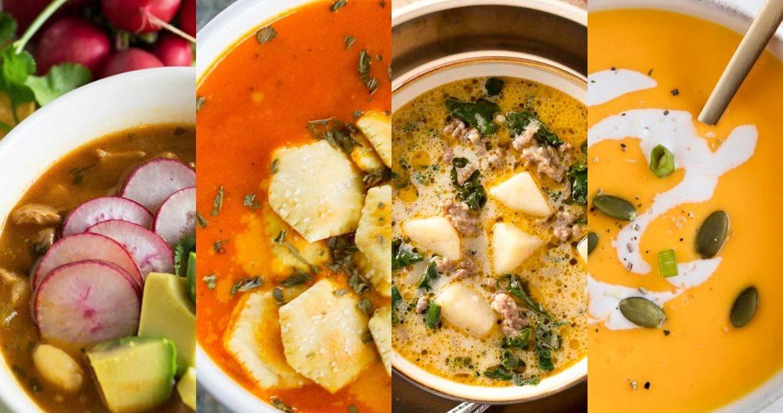 Healthy Instant Pot Soup Roundup