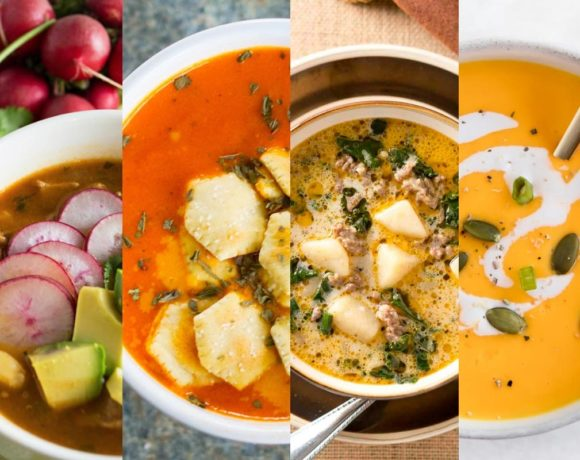 Healthy Instant Pot Soup Roundup