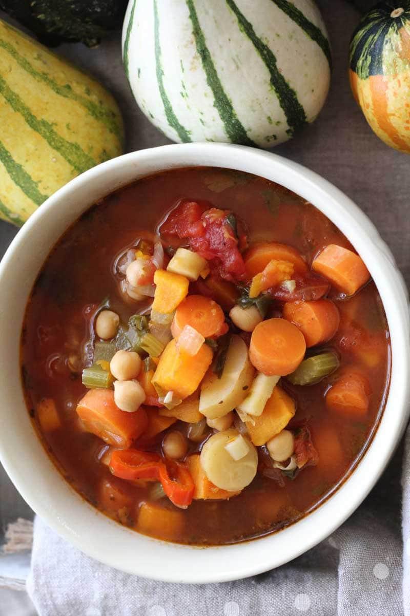 Full Harvest Vegetable Soup
