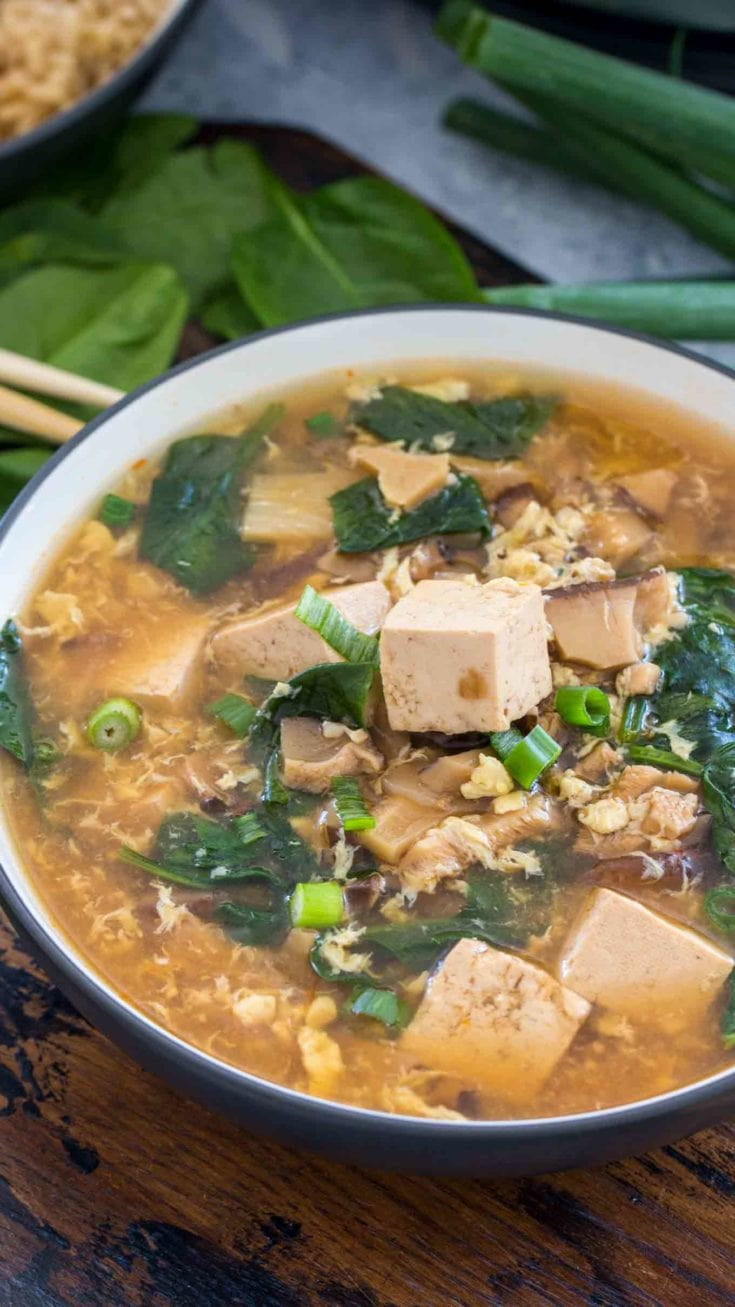 Instant Pot Hot and Sour Soup (Sweet & Savory Meals)