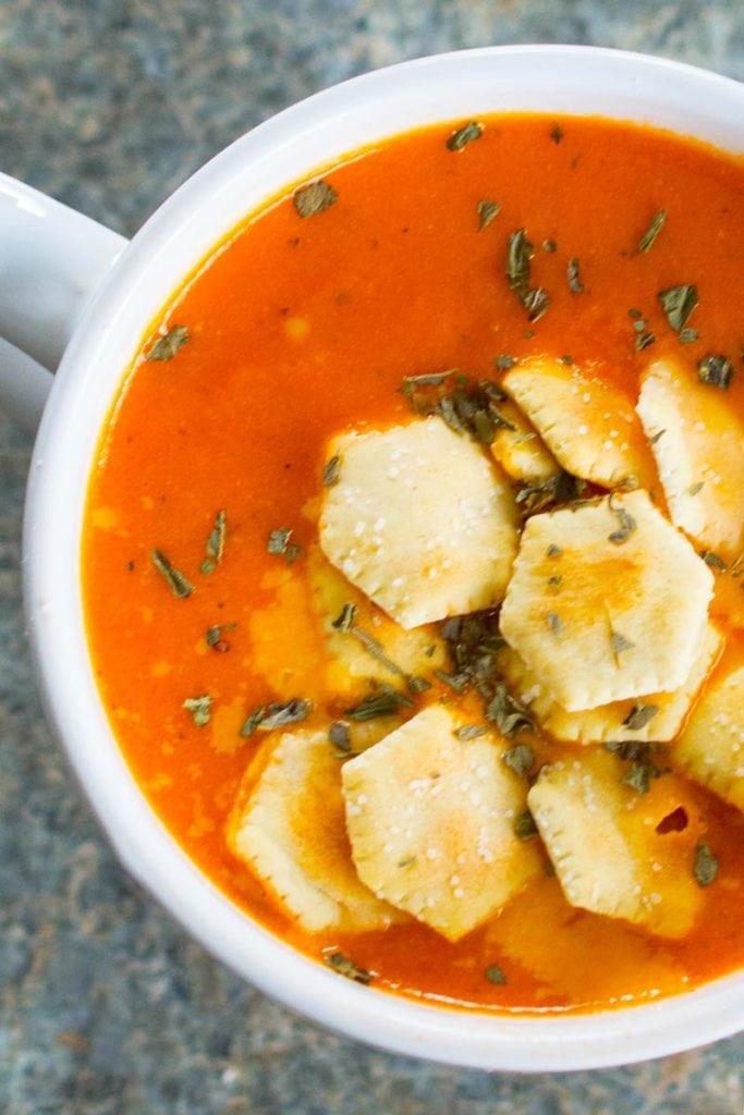 Instant Pot Tomato Soup Vertical 2