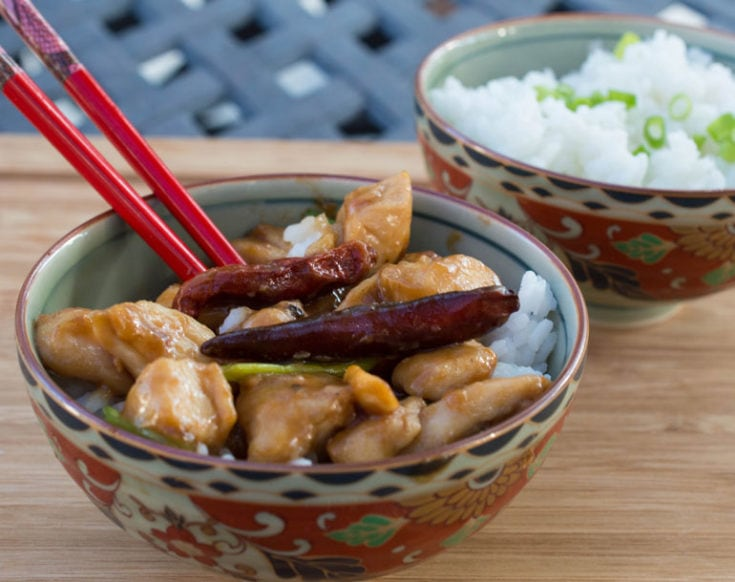 Easy Homemade Kung Pao Chicken