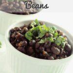 Mexican Black Beans Pinterest 1