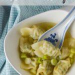 Wonton Soup Pinterest