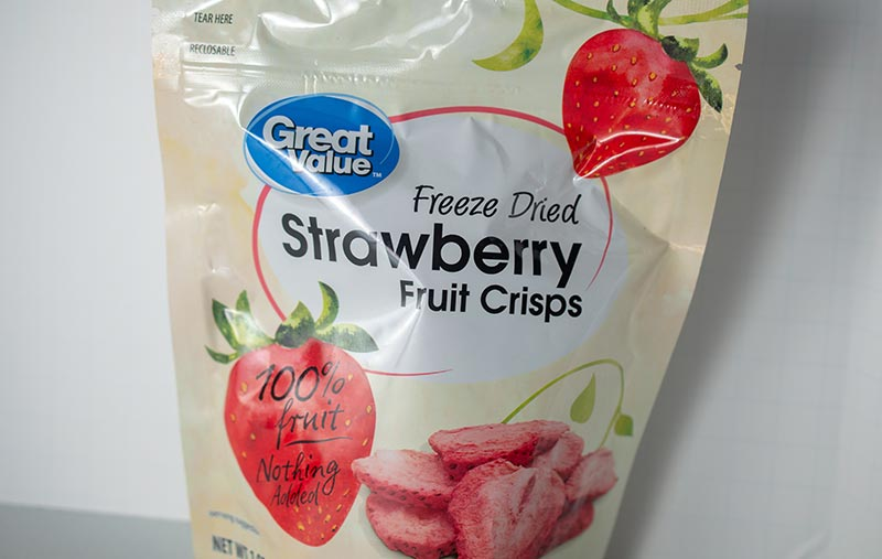 freeze-dried strawberries