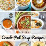 Healthy Crock Pot Soup Recipes Pinterest