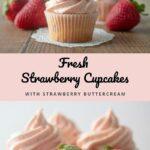 Strawberry Cupcakes Pinterest 3