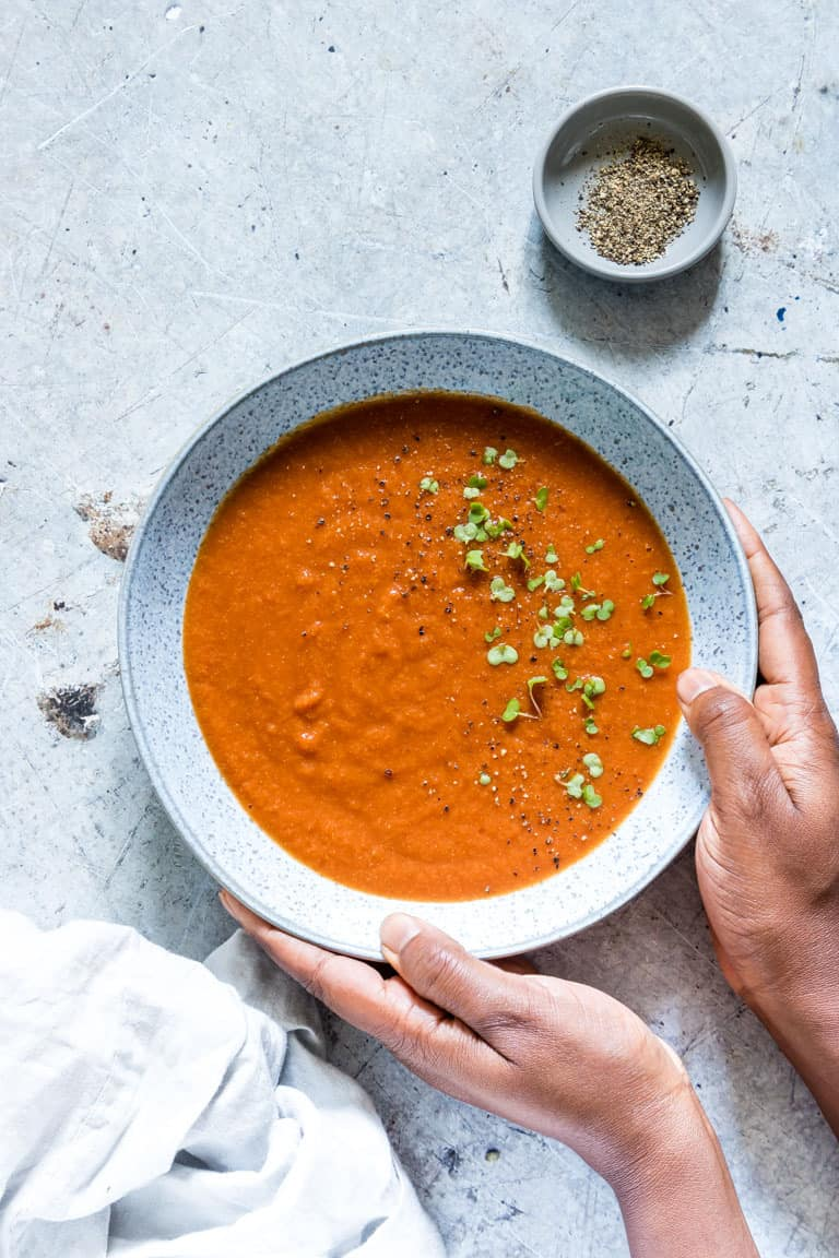 Tomato Soup with Curry