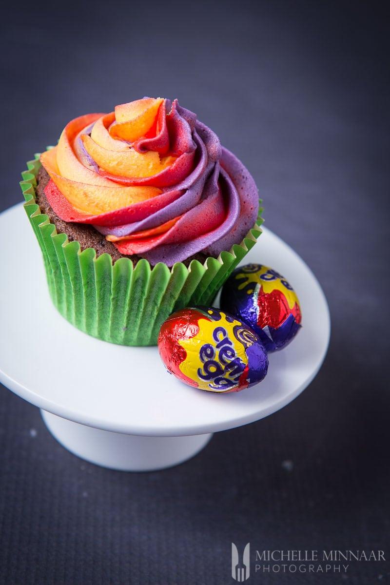 Cadbury Creme Egg Cupcake