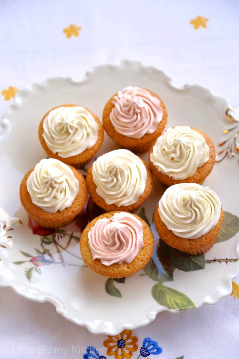 Jam Filled Cupcakes
