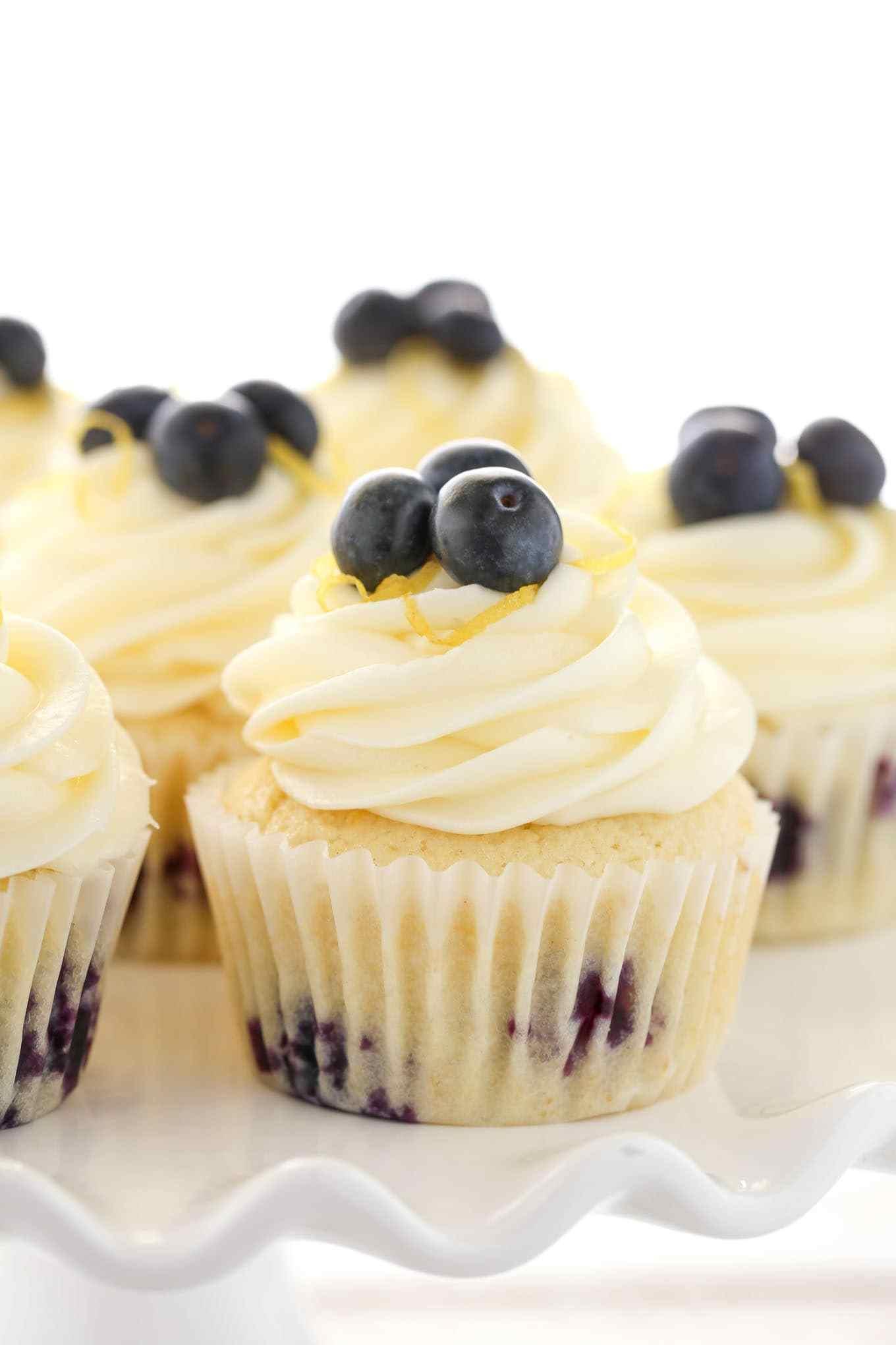Lemon Blue Berry Cupcakes