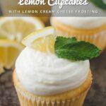 Lemon Cupcakes Pinterest