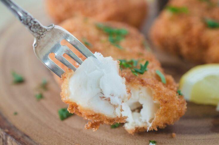 Panko Crusted Cod with Lemon Aioli