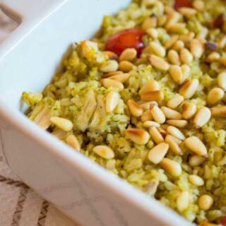 Pesto Rice 2