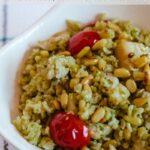 Pesto Rice Pinterest