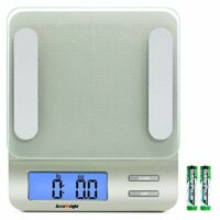 Accuweight 207 Digital Kitchen Multifunction Food Scale