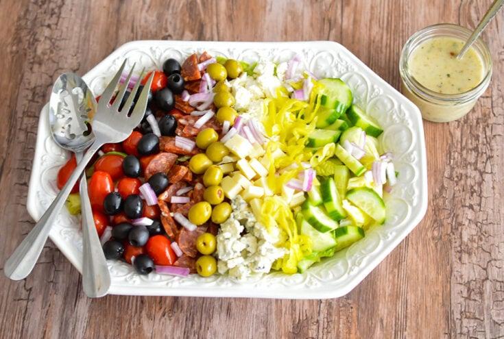 Chopped Antipasti Salad (Buca di Beppo Copycat)