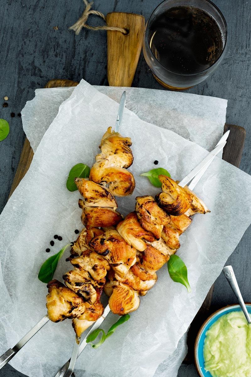 Cilantro-Lime Chicken Kabobs