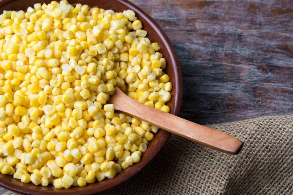 Corn Kernels in a bowl