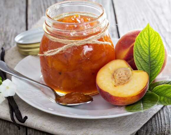 Peach Vanilla Jam Featured