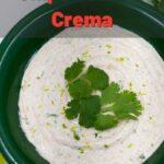 Chipotle Lime Crema Pinterest 2