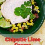 Chipotle Lime Crema Pinterest 3