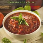 Instant Pot Marinara Sauce Pinterest 2 1