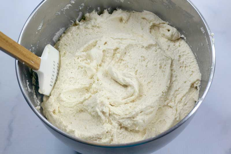 cookie dough for Amish sugar cookies