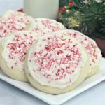 candy cane Amish sugar cookies