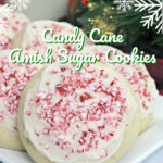 Candy Cane Amish Sugar Cookies Pinterest
