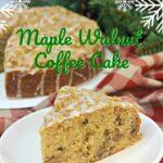 Maple Walnut Coffee Cake Pinterest 2
