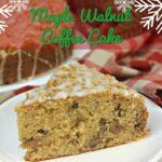 Maple Walnut Coffee Cake Pinterest 3