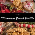 Microwave Peanut Brittle Pinterest 3