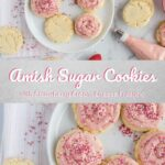 Amish Sugar Cookies with Strawberry Cream Cheese Frosting Pinterest 5