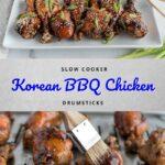 Korean BBQ Chicken Pinterest
