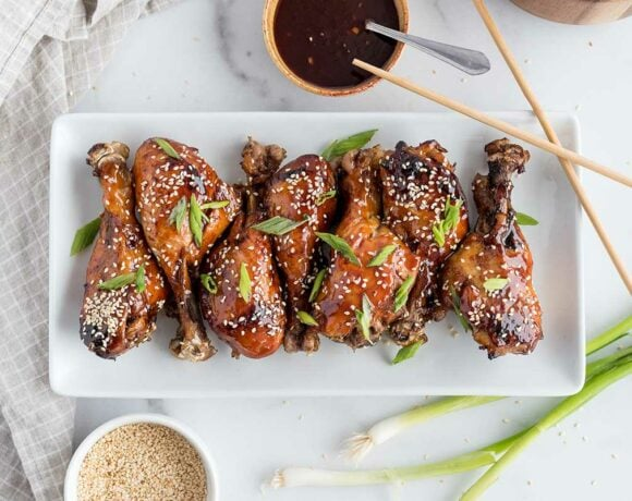 Korean BBQ Drumsticks Featured 2 Corrected
