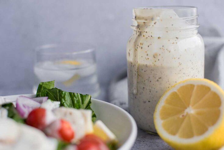 Creamy Pesto Salad Dressing Featured 6