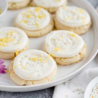 Lemon Sugar Cookies Featured 3
