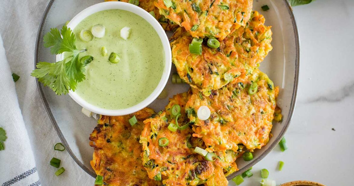Veggie Fritters Featured 3