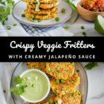 Veggie Fritters Pinterest 4