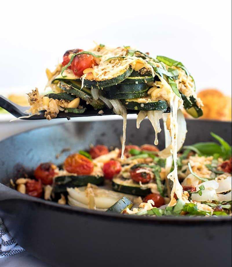 Italian Zucchini Bake Vertical 2