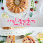 Strawberry Bundt Cake Pinterest 2
