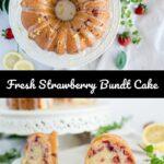 Strawberry Bundt Cake Pinterest 5