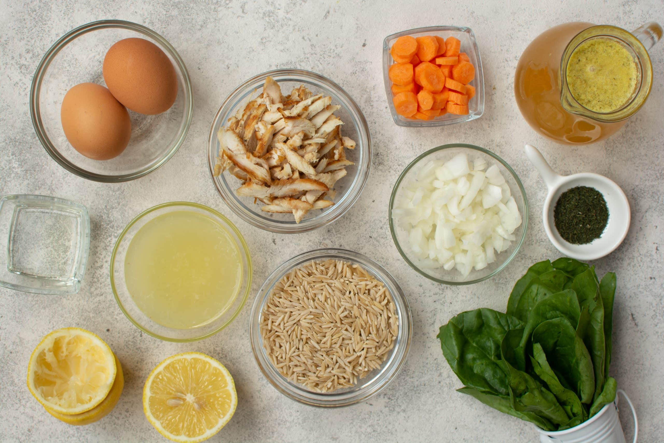 Copy of Orzo ingredients