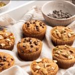 Pinterest button for almond flour banana pancakes