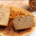 Pinterest button for almond flour banana muffins
